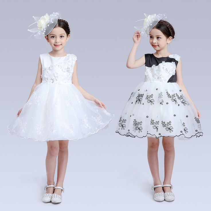 $26.03 (Buy here: https://alitems.com/g/1e8d114494ebda23ff8b16525dc3e8/?i=5&ulp=https%3A%2F%2Fwww.aliexpress.com%2Fitem%2FNew-Children-s-Wear-Lace-Wedding-Girls-Flower-Palace-Dress-Princess-Dress-Kids-Clothing-White-Black%2F32738198868.html ) New Children's Wear Lace Wedding Girls Flower Palace Dress Princess Dress Kids Clothing White Black for just $26.03