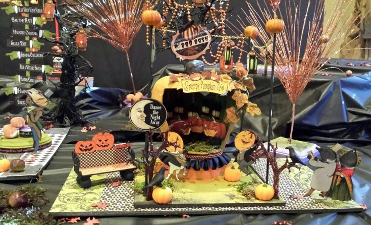 If you love dancing you can dance the night away at the Boo Bash.  Artfully Musing: HALLOWEEN CARNIVAL EVENT – IS HERE!!! Join me on my blog for free video tutorials showing you how to create pieces for a Halloween Carnival, giveaways, and free images.