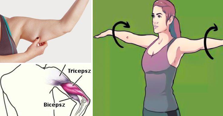 Gyakorlatok súlyzóval a feszes és karcsú karok eléréséhez és a lötyögő effektustól is megszabadulsz!