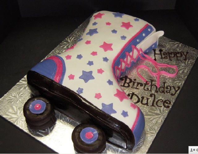 rollerskate cakes | in roller skate cake in album children s birthday cakes