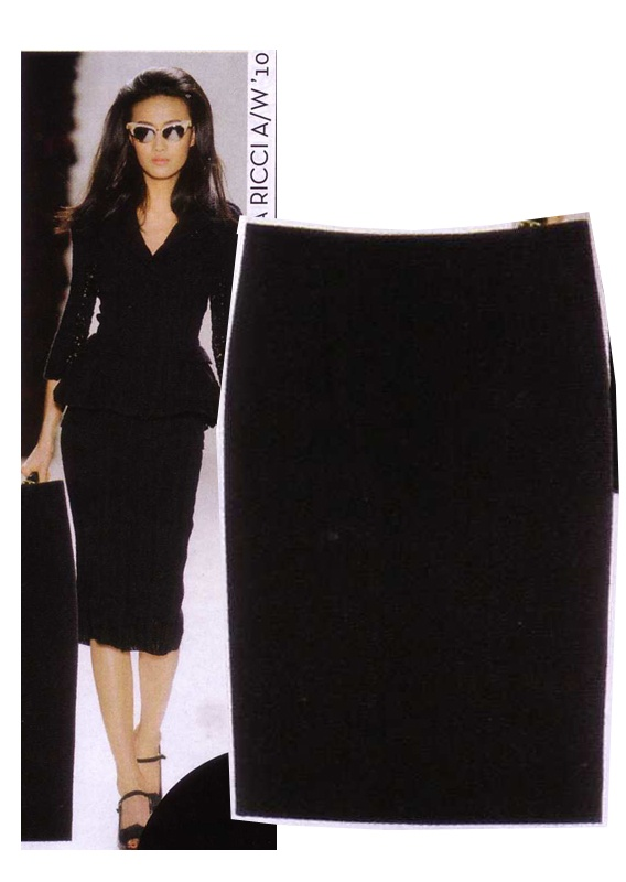 Estelle Pencil Skirt by Alibi at AlibiOnline. As seen in Feb issue.