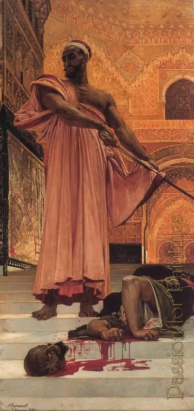images of moors in paintings | ... under the moorish kings of grenada - Oil painting reproduction