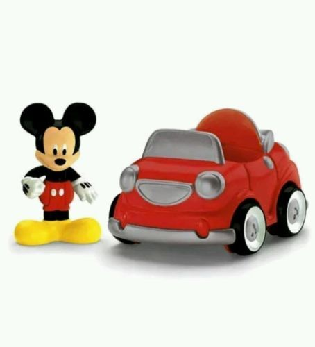 Disney  Mickey Mouse Clubhouse Figure and Car Play Set Fisher-Price Ages 2+ New Drive Off With Mickey Product Dimensions: 5 x 4 x 3 inches Mickey Mouse Clubhouse MICKEY Figure Mickey Mouse Clubhouse Car Made By Fisher Price Recommended Ages 2+ New purchased for resale by Keywebco Video inspected during shipping Shipped fast and free from the USA The item for sale is pictured and described on this page. The stock photo may include additional items for display purpose only - which will not be…