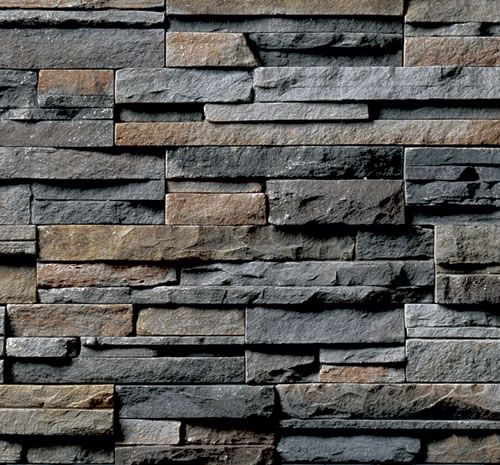 Like the colors in this stone and the dry stack look but would want bigger pieces in a variety of squares and rectangles.