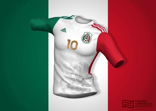 Espectaculares diseños de camisetas-bandera - Futbol Total