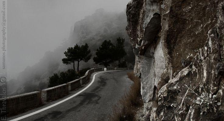 Δρόμος προς Ιερά Μονή Ζωοδόχου Πηγής Σάμου - Way to Monastery Zoodochos Pigi