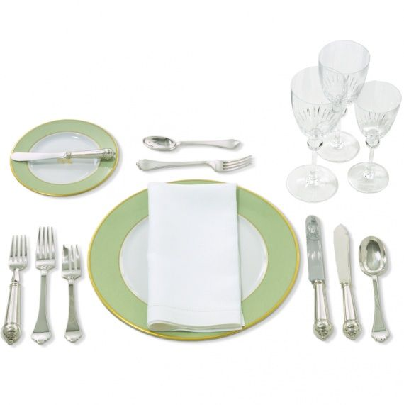 how to set a table setting dinner