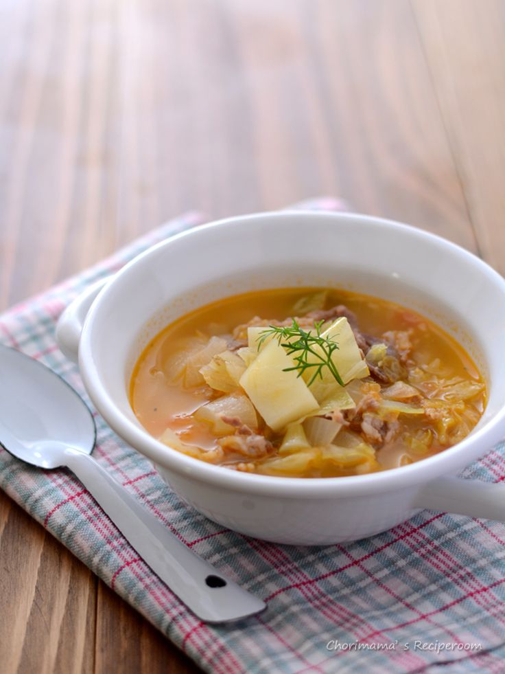 ハーブ豚こまの野菜たっぷりスープ by 西山京子/ちょりママ | レシピサイト「Nadia | ナディア」プロの料理を無料で検索