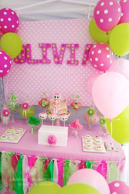 ideas para fiesta de cumpleaos de lalaloopsy