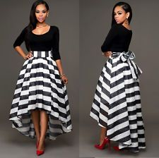 New Ladies Two-Pieces High-Low Tops Skirt Woman Vintage Long Tulle Skirt Dress