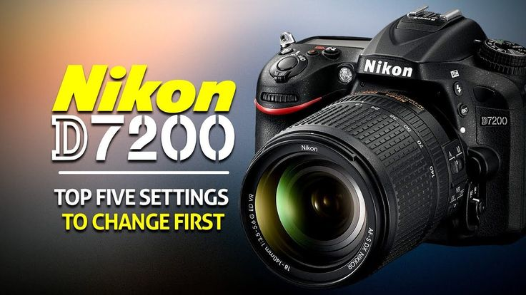 Top 5 Settings To Change On The Nikon D7200 https://www.camerasdirect.com.au/digital-cameras/digital-slr-cameras/nikon-dslr-cameras/nikon-d7200-dslr-camera-body