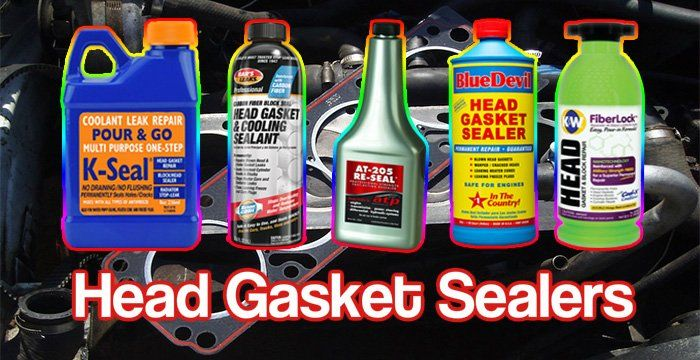Best Head Gasket Sealer 2019 Top Rated Gasket Sealant Reviews