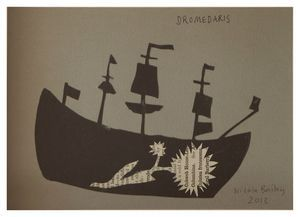 Nicola Bailey   'Dromedaris'   Collage