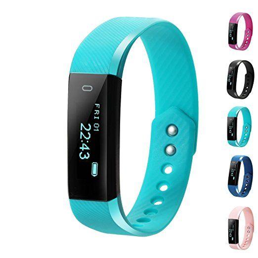 Fitness Tracker, LCStream Smart Watch Health Bracelet