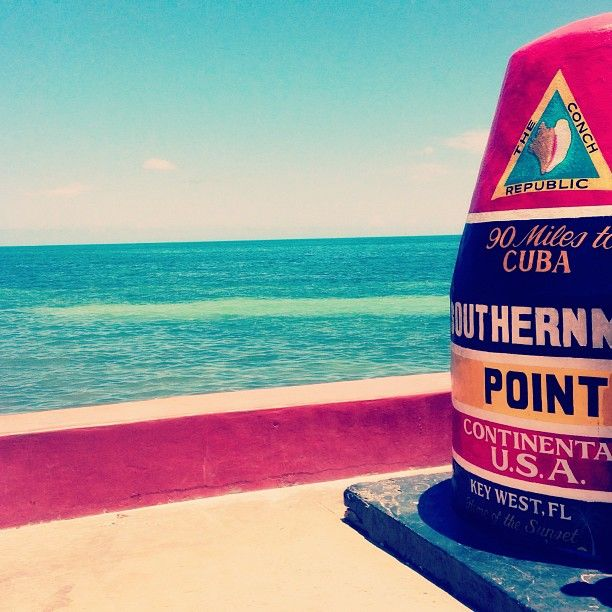 Southernmost Point Buoy in Key West, FL