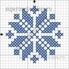 вышивка фетр снежинка - Поиск в Google
