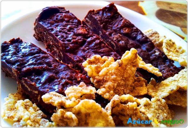 Tableta de chocolate y cereales