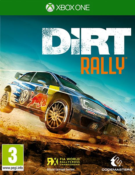 DiRT Rally Built by Codemasters and road tested over 60 million miles by the DiRT community, DiRT Rally is the ultimate rally experience. Publisher: KOCH Media Developer: Codemasters Genre: Racing Platform: PC, PS4, Xbox1 Release Date: 05/04/2016 #videogames #racing #Xbox1 #Rally #WRC