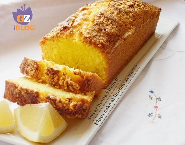 Il plum cake al limone zenzero è un dolce da credenza , molto soffice e profumatissimo ideale da gustare a colazione , o a merenda accompagnato da una buona tazza di thè Oppure si può offrire benissimo a fine di un pasto.