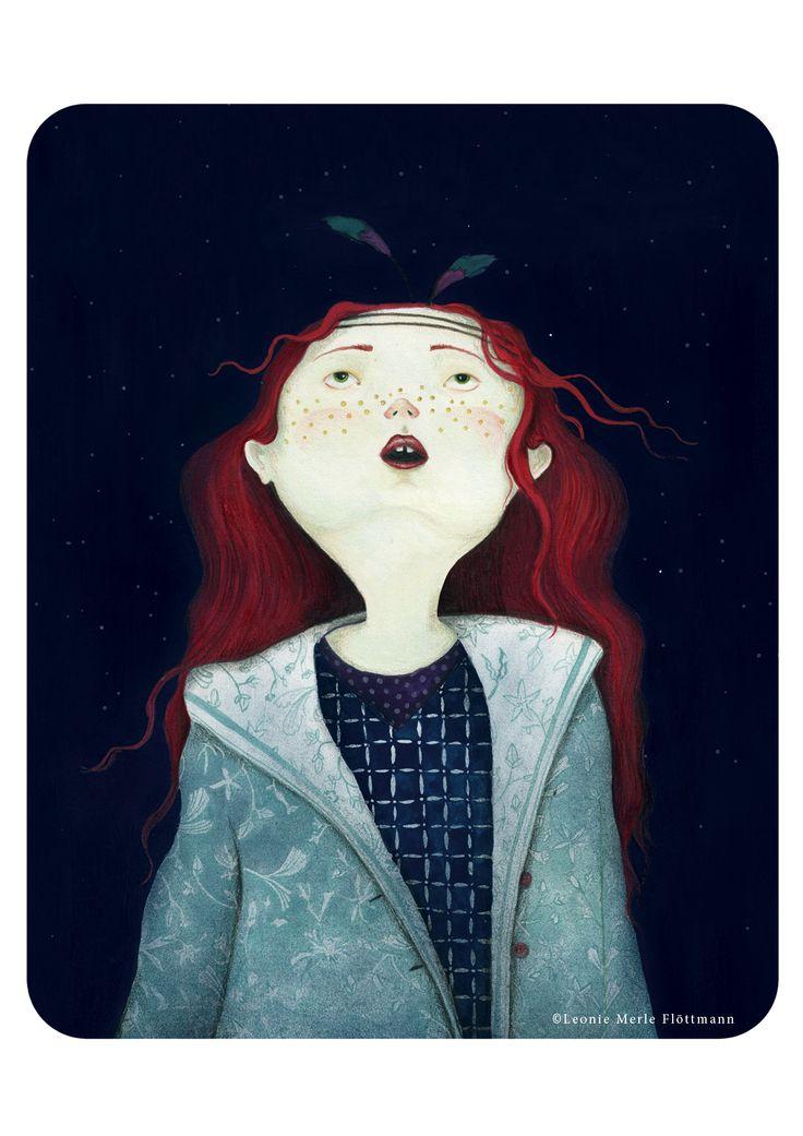 Atelier Leo la Douce - children book illustration by Leonie Merle Flöttmann