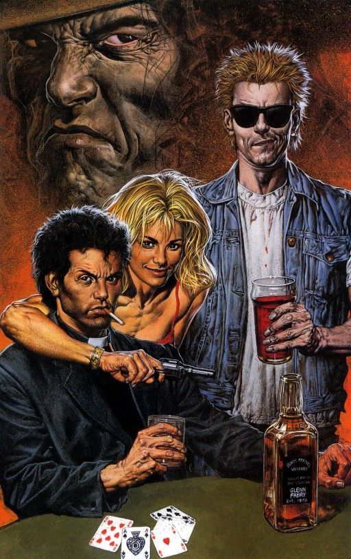 AMC orders pilot for adaptation of Preacher comic book