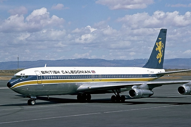 boing 707 British airline, Vintage aircraft, Boeing 707