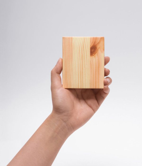 memo pad that looks like a block of wood from Appree #fundesign #noveltyproduct