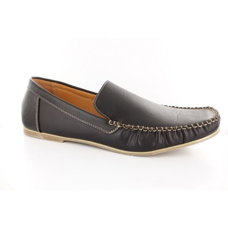 Mens moccasins with bold stitching in brown and black color. Synthetic leather slim and lightweight outsole loose fit and sporty look. Easy to wear and always in fashion. In large sizes from Andres Machado. http://www.bigshoes.gr/catalogsearch/result/?q=am616
