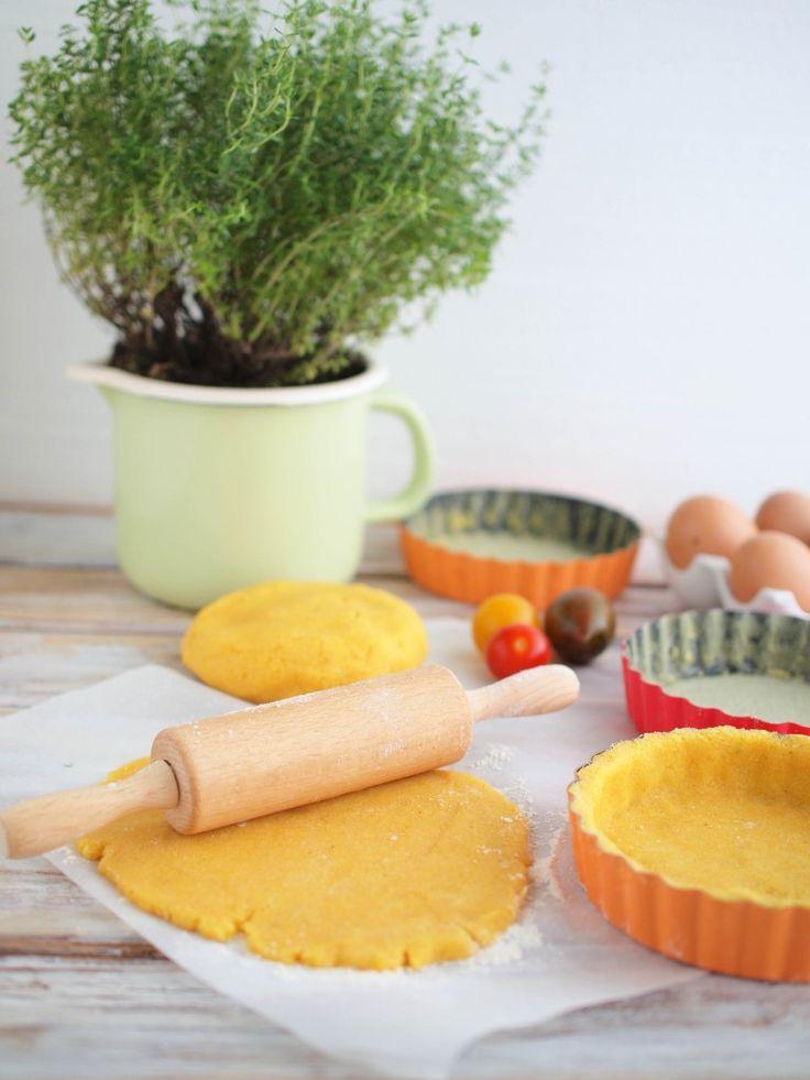 polentový koláč