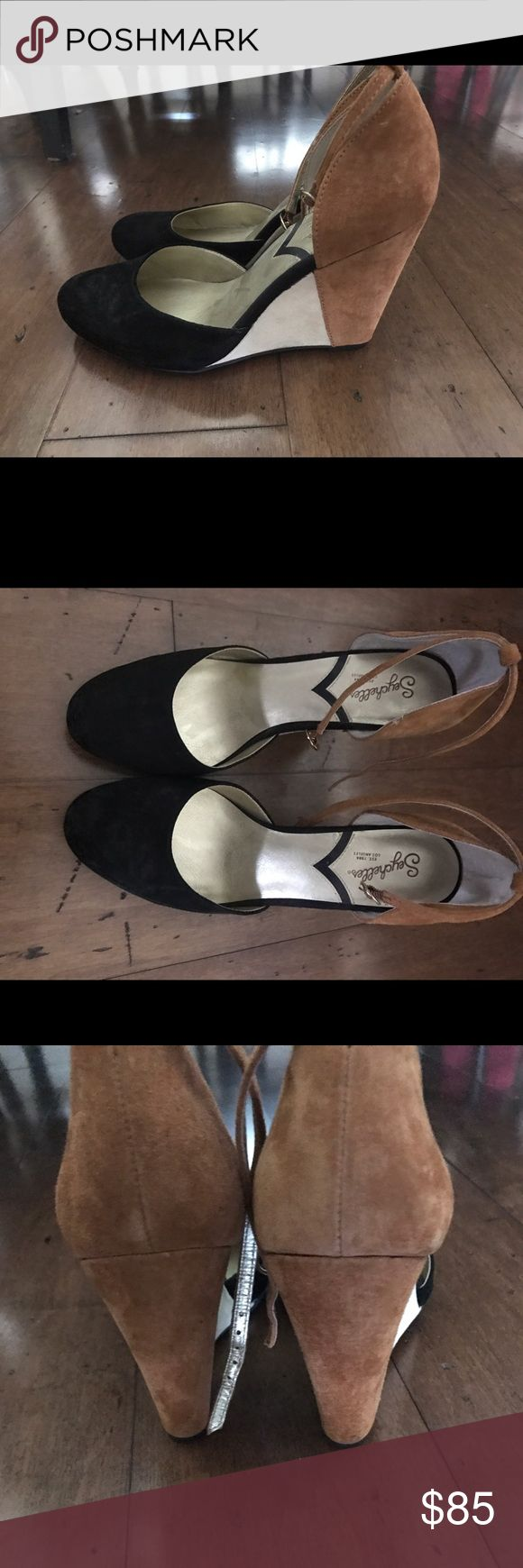 Seychelles wedges Size 8, Seychelles wedges, only worn once! Seychelles Shoes Wedges