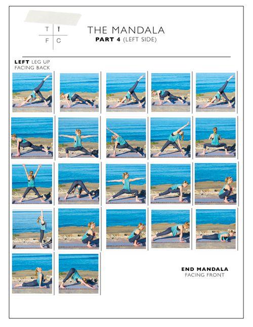PART 4 - MANDALA - YOGA FLOW & MEDITATION: Dear Yoga Student . . . — Coreen Murphy