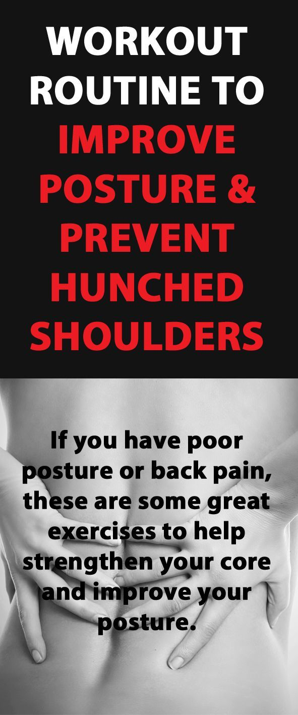 Workout Routine To Improve Posture And Prevent hunchback