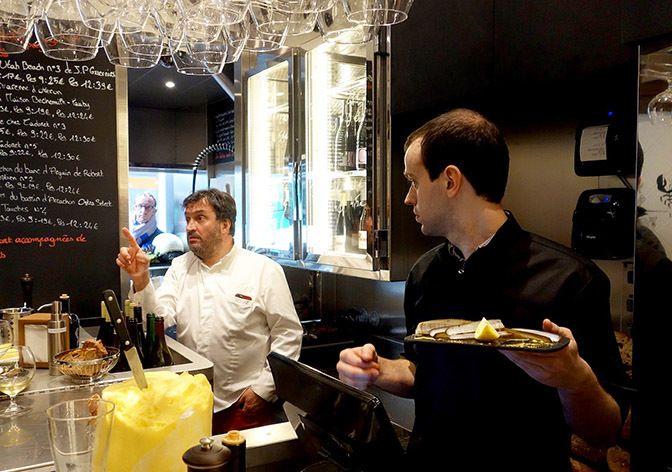 Restaurant l avant comptoir de la mer paris restaurant - Le comptoir des mers paris ...