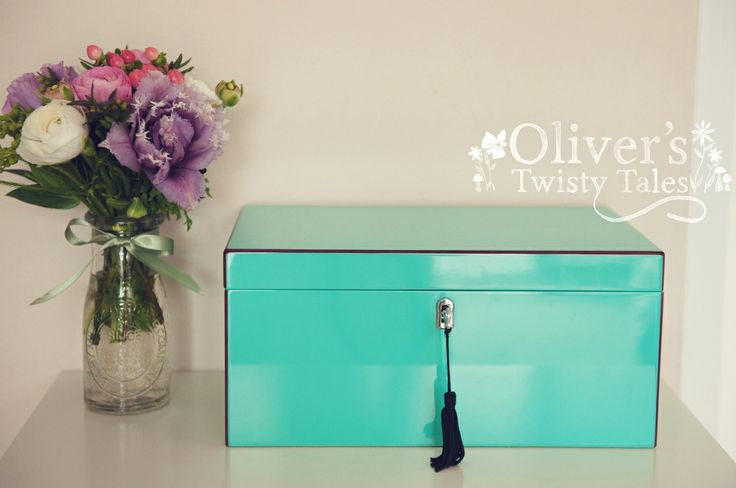 Tiffany Blue Lacquered Jewellery Box – Large | $190