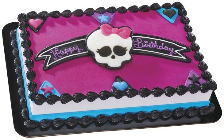 Monster High Cake! Cakes.com - Birthday Cakes, Cake Decorations, Cake Toppers & Party Planning
