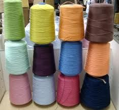 Knitting equivalent weights for cone yarns