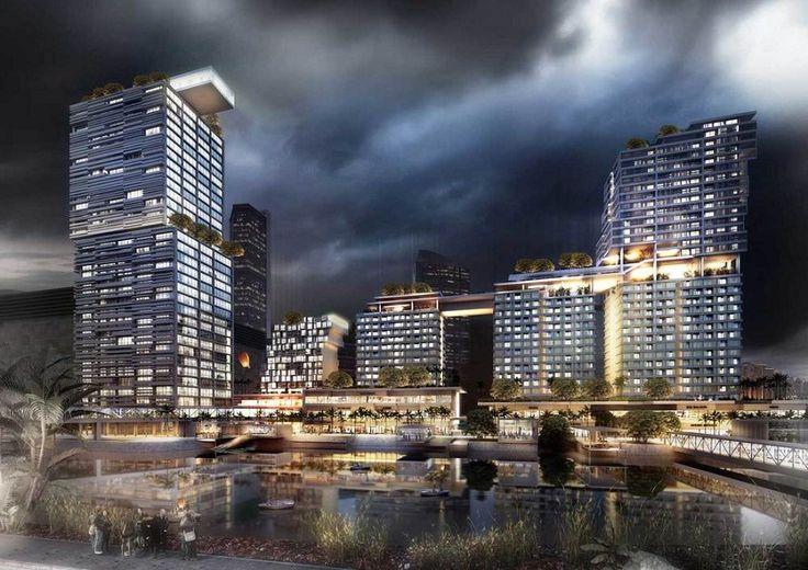 Fifty Seven Promenade, proyek apartemen dan perkantoran senilai Rp 8 triliun dari Intiland.  #perkantoran #properti #apartemen