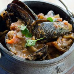 Spicy seafood potjie   Food24