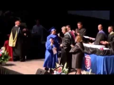 ▶ Teen Refuses To Walk At Graduation Unless Twin Brother With Down Syndrome Walks - #Upstander