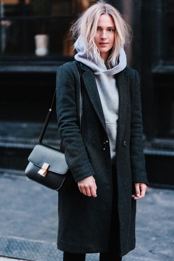 O casaco alongado é o melhor amigo para os dias mais frios