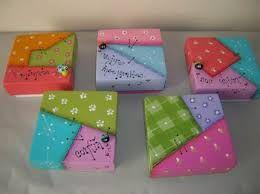 Resultado de imagem para pintura decorativa en cajas #pinturadecorativatecnica