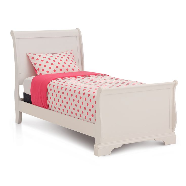 the dominique twin sleigh bed is inspired by 18th century france - Twin Sleigh Bed