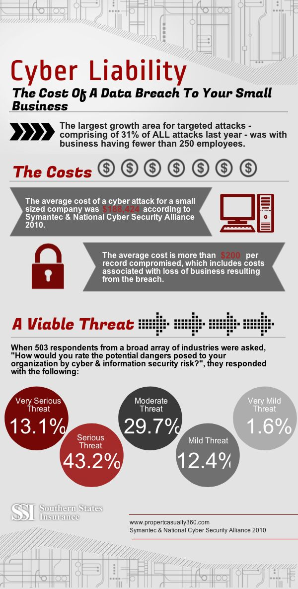 Infographic Cyber Security Insurance