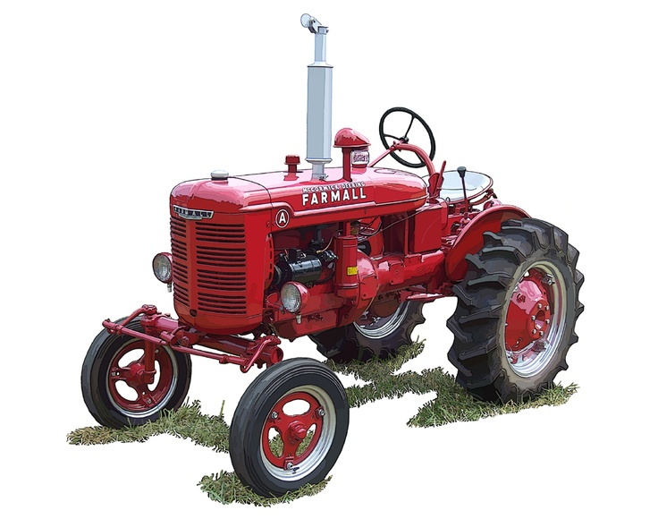 vintage tractor clipart - photo #35