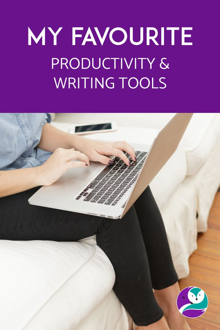 On the blog, I chat about my favourite productivity and writing tools.  Increase the fun and productivity levels.