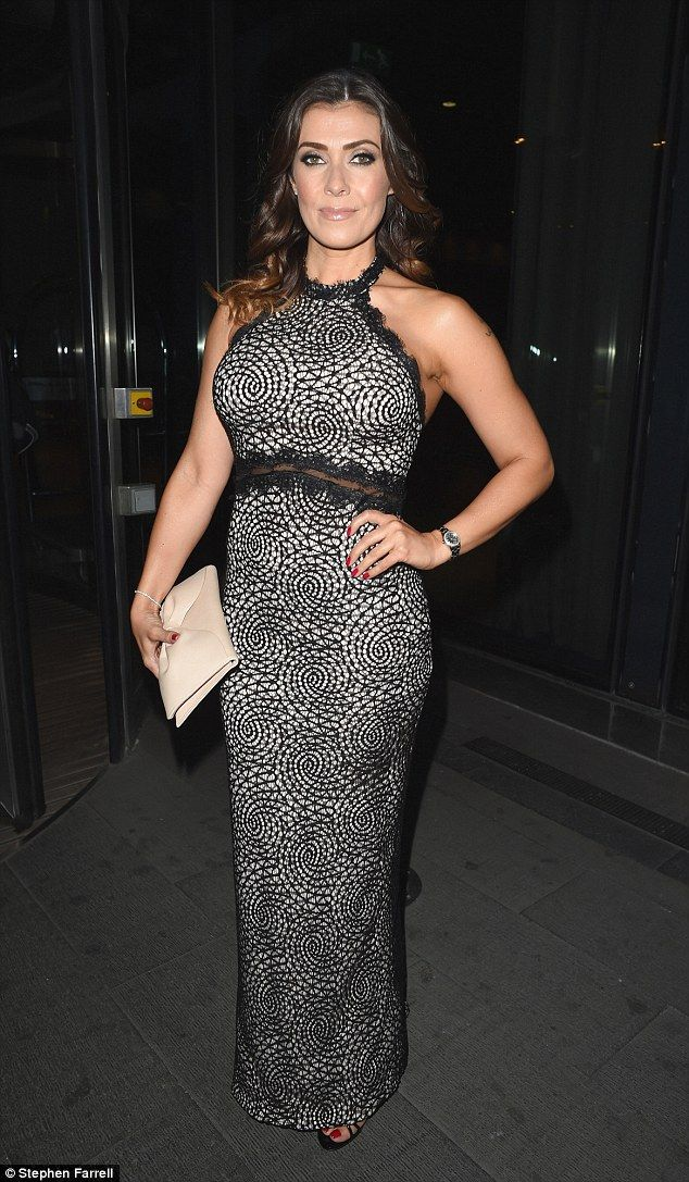 Glam: Kym Marsh was out in force as she partied in Manchester on Friday evening