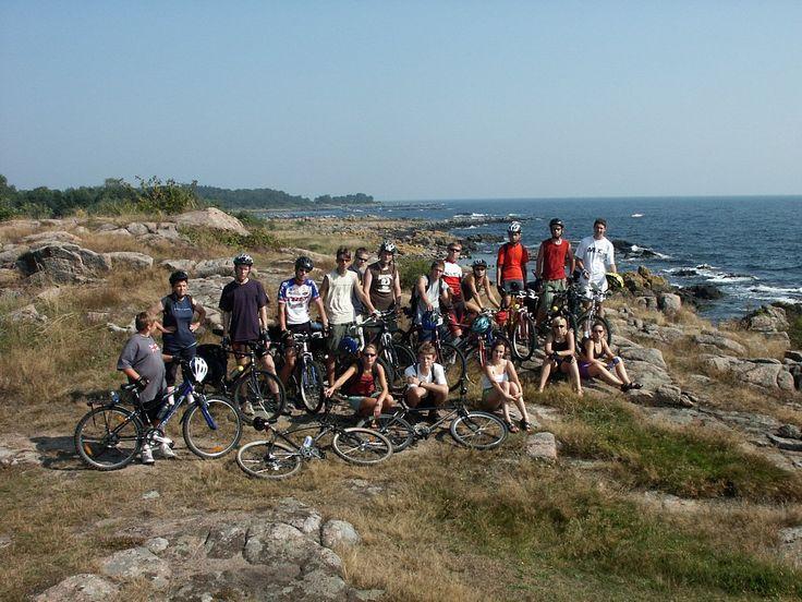 Tramping rowerowy po Bornholmie
