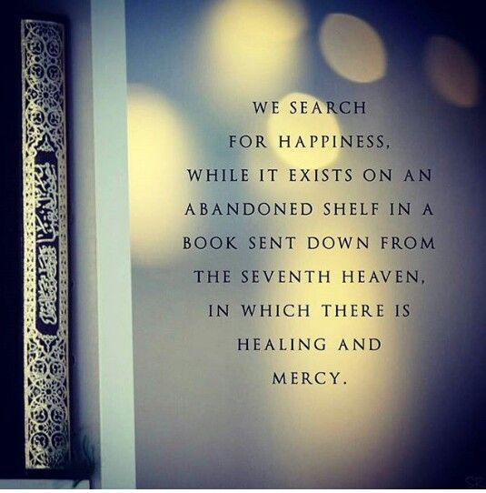 Qu'ran... The Book sent down from the 7th Heaven