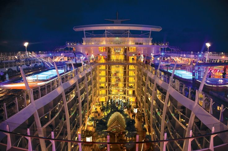 Solarium - Allure of the Seas