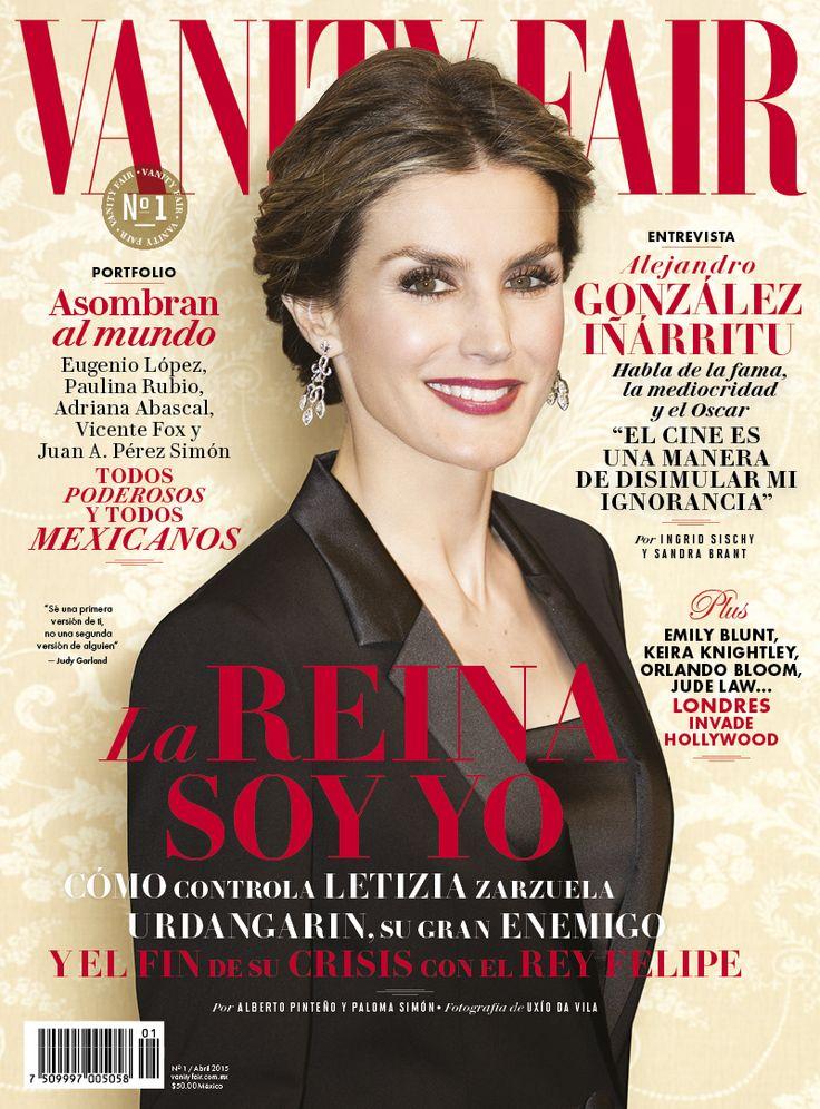 Abril   #ReinaLetizia #VanityFairMx